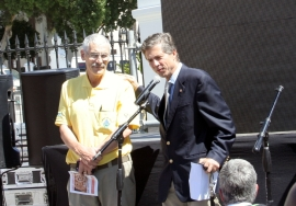 Local MP, Dr Mario Oriani-Ambrosini