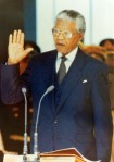 Nelson Mandela Oath of Office as President