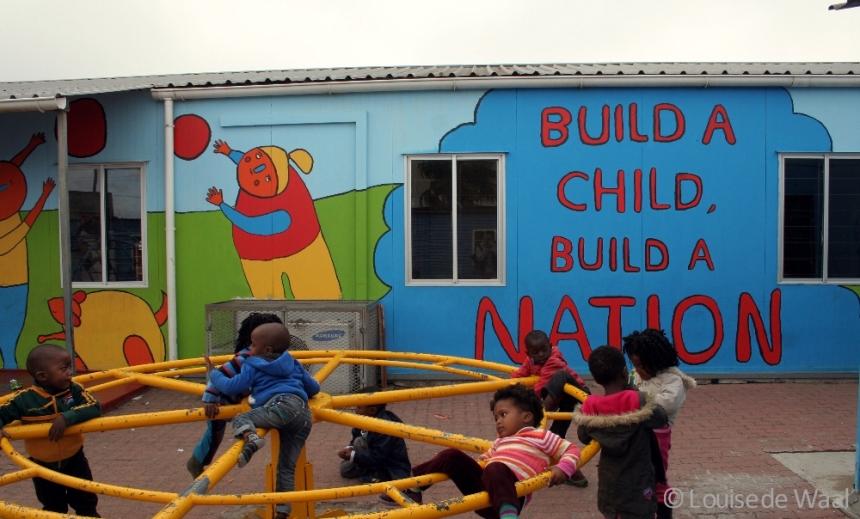 Dalukhanyo pre-school sponsored by Baobab Travel
