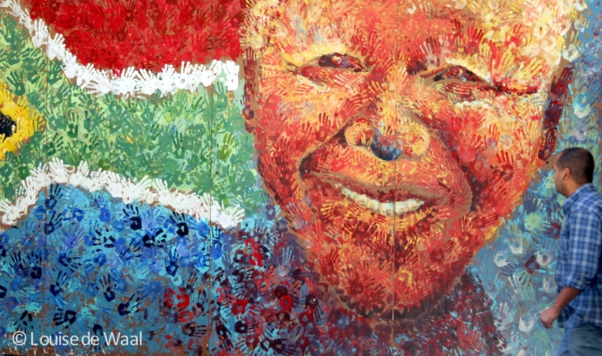 Madiba mural Cape Town