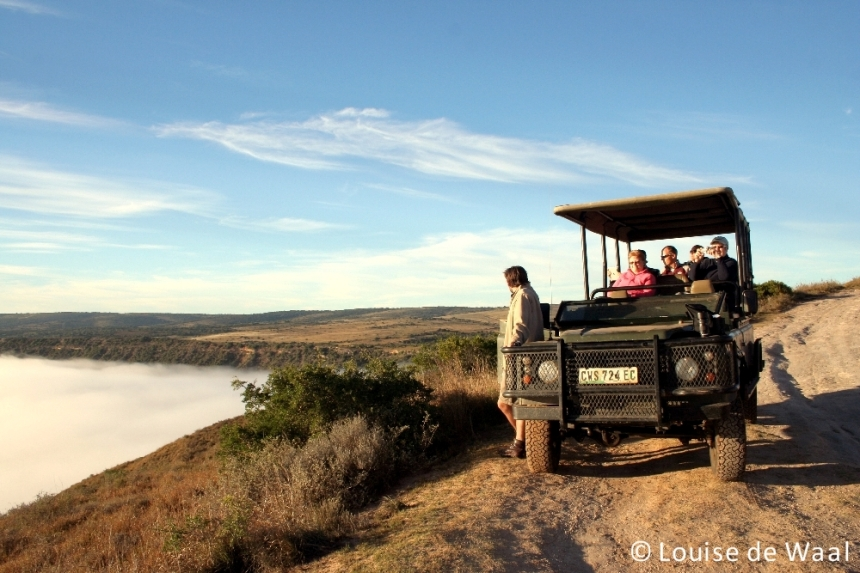 Amakhala Game Reserve viewpoint
