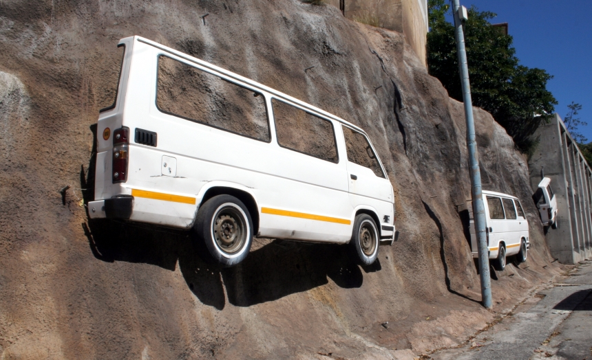 PE Real City tour - infamous minibus taxis
