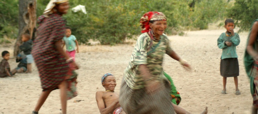Nhoma Safari Camp San People Namibia Playing Games