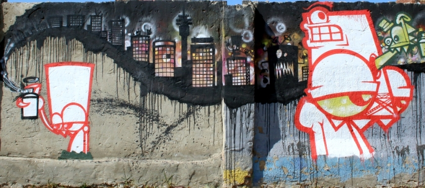 The laanie and angry orange by Myza420 in Jeppestown