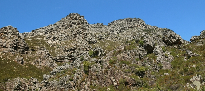 Hottentots Holland mountain ranges