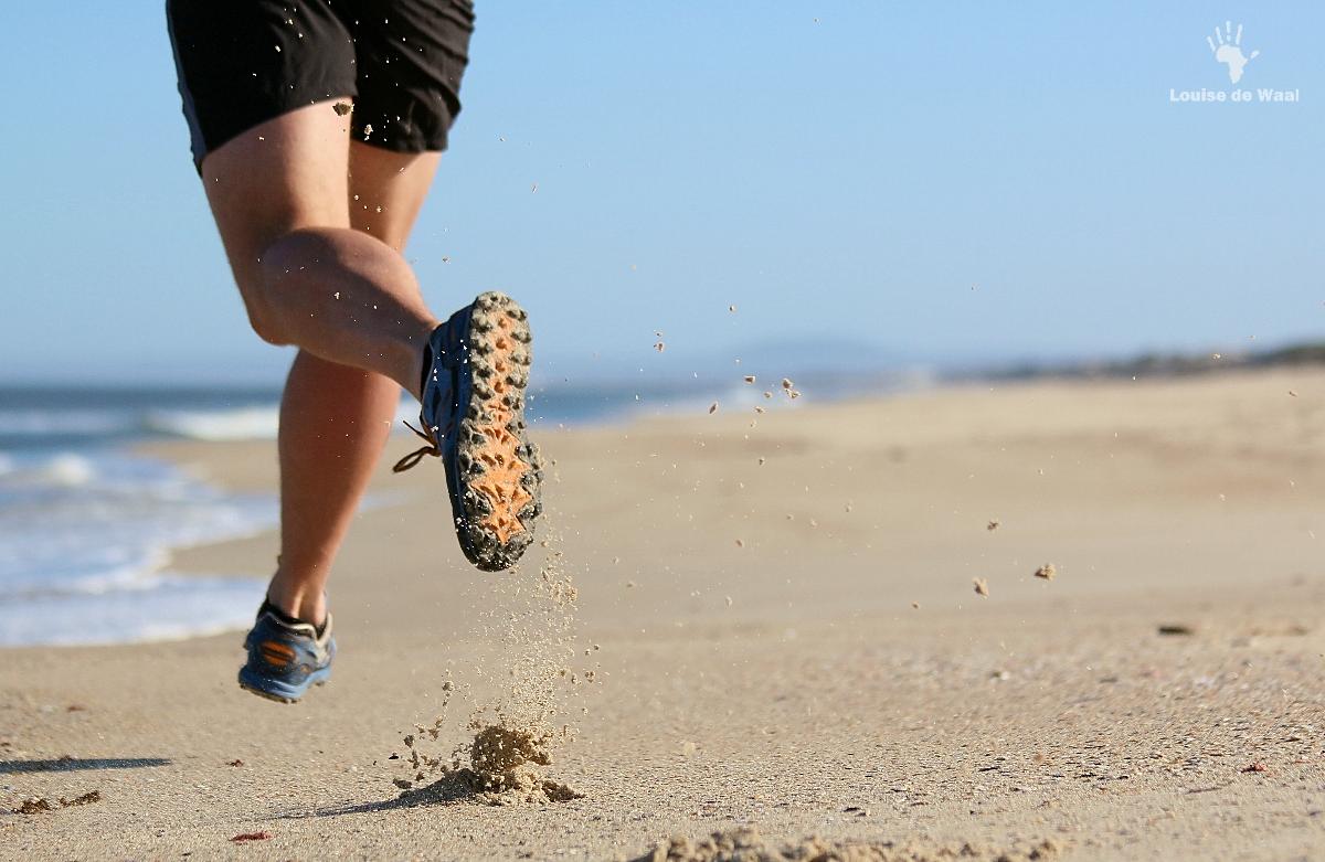 Beach runs Rocherpan