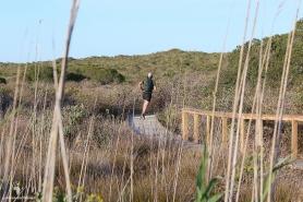 Boardwalk runs Rocherpan