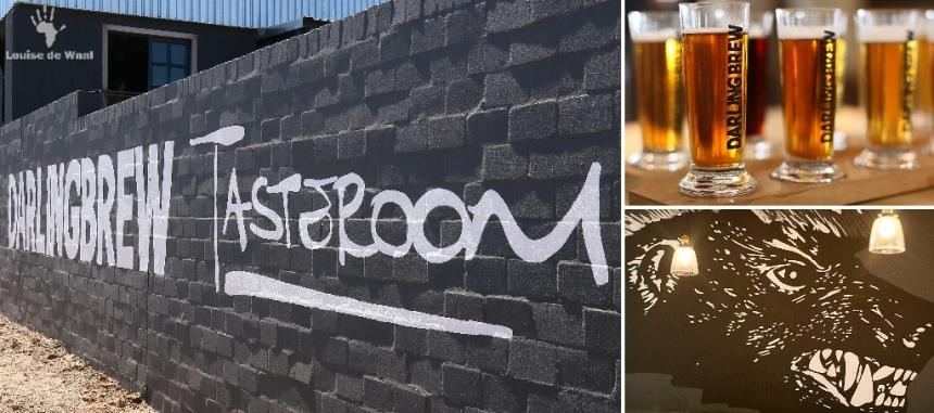 DarlingBrew Tasteroom beer tasting experience