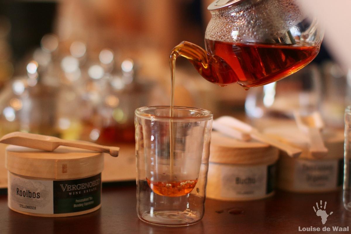 Pure taste of Rooibos tea