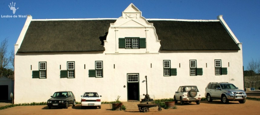 Groote Post Wine Tasting Room Darling