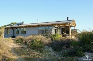 Six person eco-cabins at Rocherpan