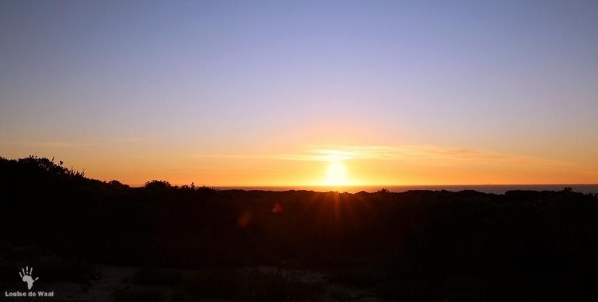 Sunset over Rocherpan