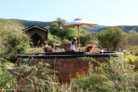 Splash pool at Gamkaberg Reserve, Klein Karoo