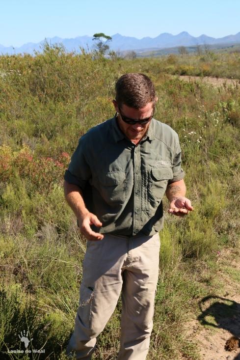 Brendan Strydon manager at Gondwana Tented Eco Camp