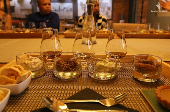 James Sedgwick Distillery Whisky and food pairing, Wellington