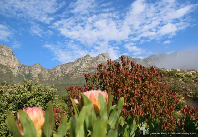 View over the 12 Apostles mountain range