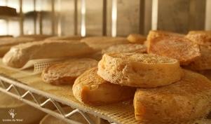 Hand crafted cheeses at Kimilili Farm