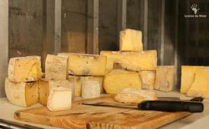 Hand crafted cheeses at Kimilili Farm, Tulbagh