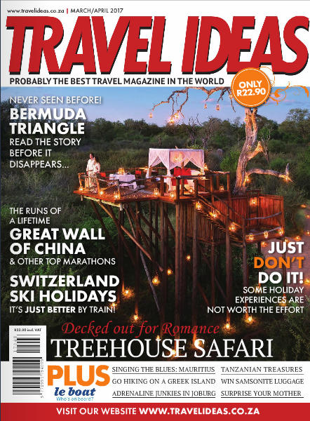 Travel Ideas Cover March 2017