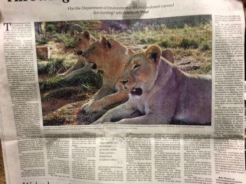 Mercury newspaper (21/02/2018)