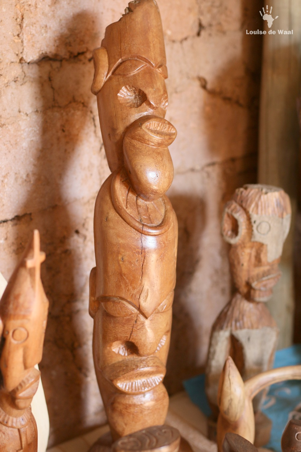 Wood carving by Patrick Manyike Limpopo