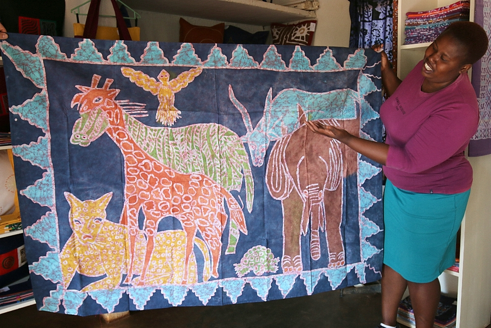 Safari design Twananani Textiles Limpopo