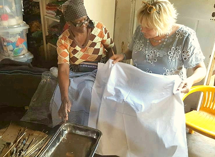 Batik Design RIbola Art Route Limpopo