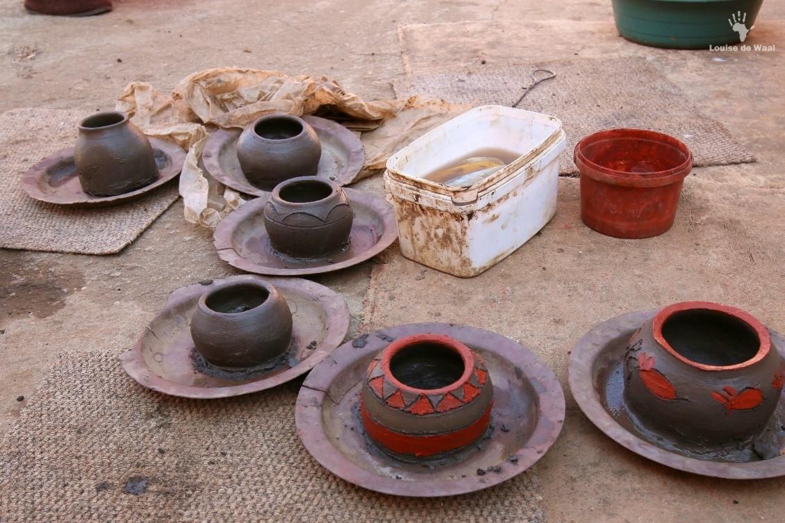 Venda pot making on Ribola Art Route Limpopo