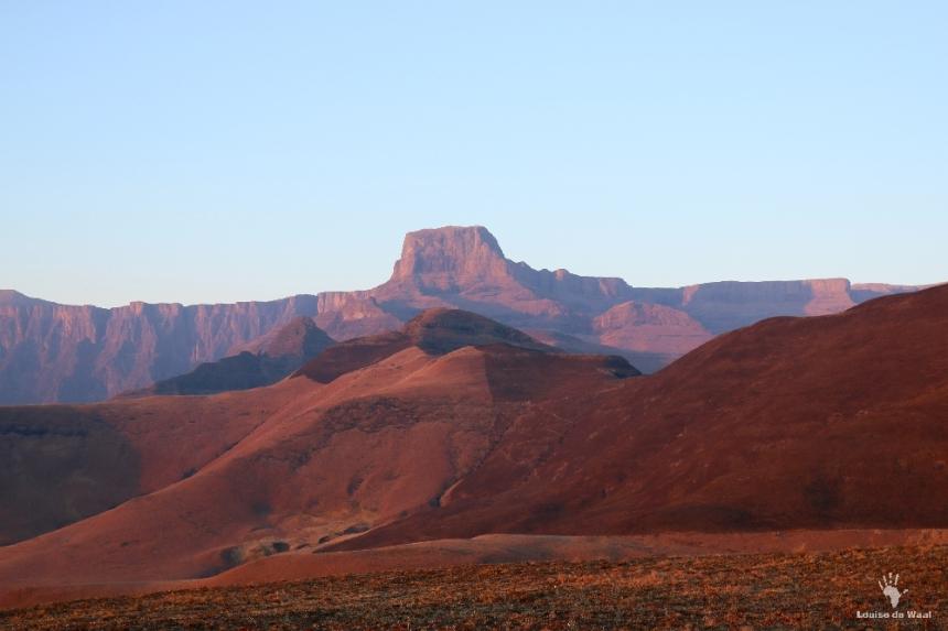 Sentinel Peak from lodge