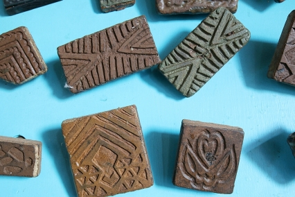Twananani Textiles block print