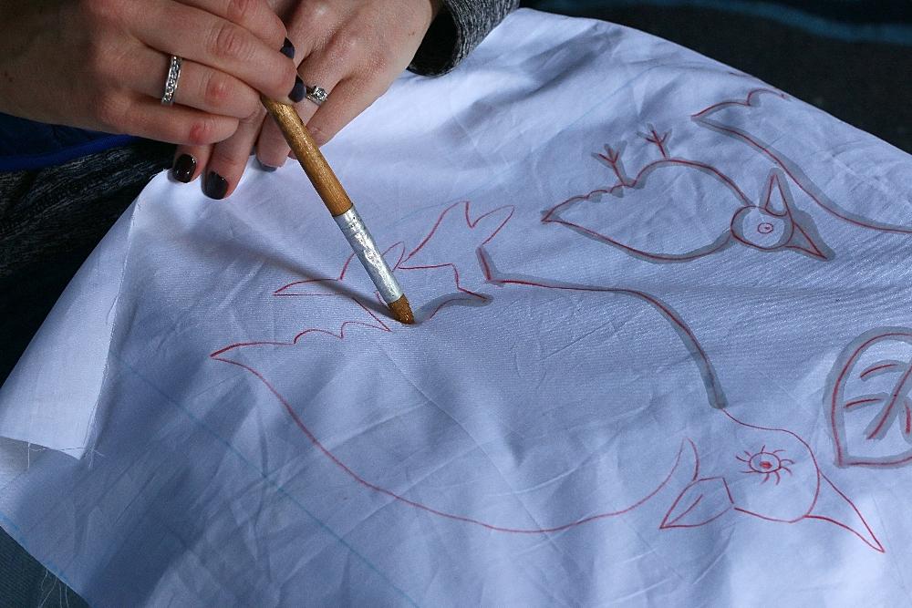 Batik design Twananani Textiles Ribola Art Route