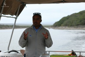 De Hoop eco-cruise with Delfrenzo Laing